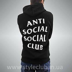 Толстовка antisocial social club | Худи ASSC | Кенгуру АССЦ