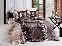 Семейный комплект постельного белья R7085 brown