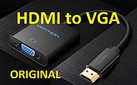 HDMI to VGA + Аудио + Питание Конвертер Vention Адаптер Преобразователь
