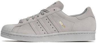 Женские Кроссовки Adidas Superstar 80s City Pack Berlin Grey (люкс копия)