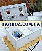 Инкубатор Курочка Ряба ИБ-100 механический переворот 100 яиц, аналоговый терморегулятор, пластик.