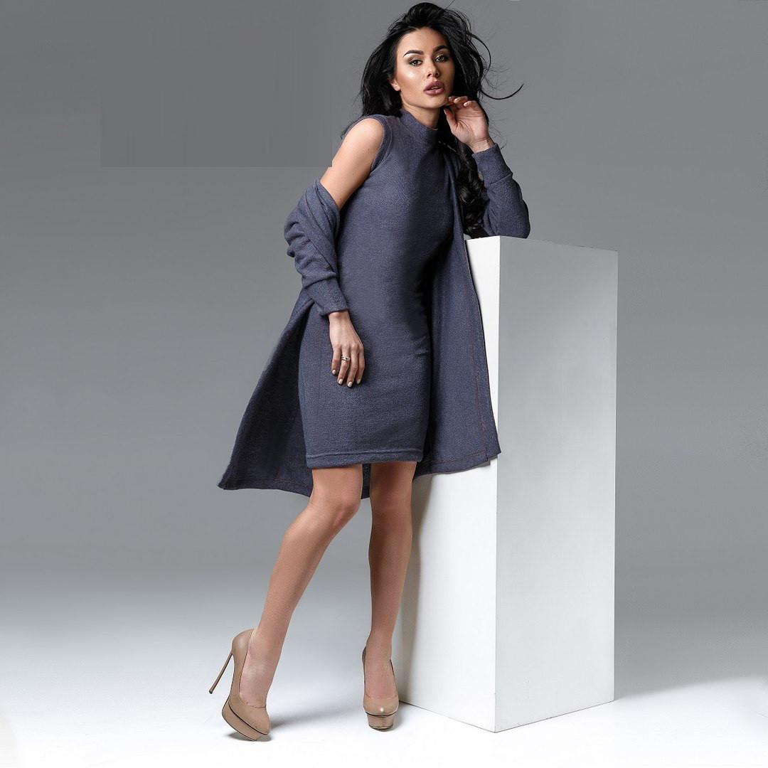 Платье с кардиганом тм0184