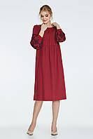 Платье NENKA 549-с01 M Бордо