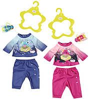 Набор одежды для куклы BABY BORN ВЕЧЕРНЯЯ ПРОГУЛКА 2 в ассорт. Zapf (824818)