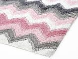 Набор ковриков для ванной Irya 40х60+60х90 Leron розовый, фото 2