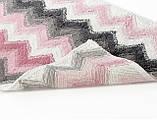 Набор ковриков для ванной Irya 40х60+60х90 Leron розовый, фото 3