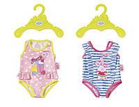 Одежда для куклы BABY BORN ЛЮБЛЮ КУПАТЬСЯ 2 в ассорт. Zapf (824580)