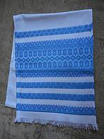 Тканый свадебный рушник «Аншлаг голубой», фото 1