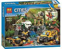 Конструктор BELA Cities База Исследователей Джунглей, 857 дет., 10712 (Lego 60161), 006958, фото 1