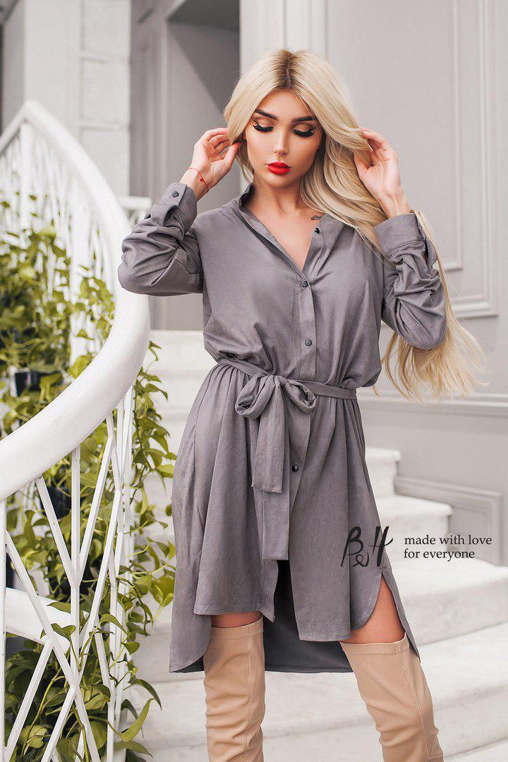 Платье - рубашка тм017