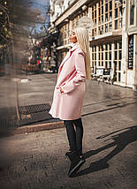 """Женское кашемировое пальто на запах """"RIKON"""" с карманами (4 цвета), фото 3"""