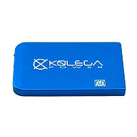 """Внешний карман для HDD SATA 2.5"""" USB 2.0 (без болтов) Kolega-Power (Синий)"""