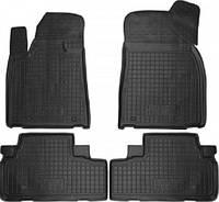 Коврики в салон Lexus RX 450 2009-> черный, кт - 4шт