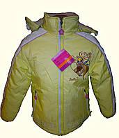 Демисезонные куртки для девочек на возраст 5,6,7,8 лет, фото 1