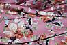 Ткань шелк армани цветы чайная роза
