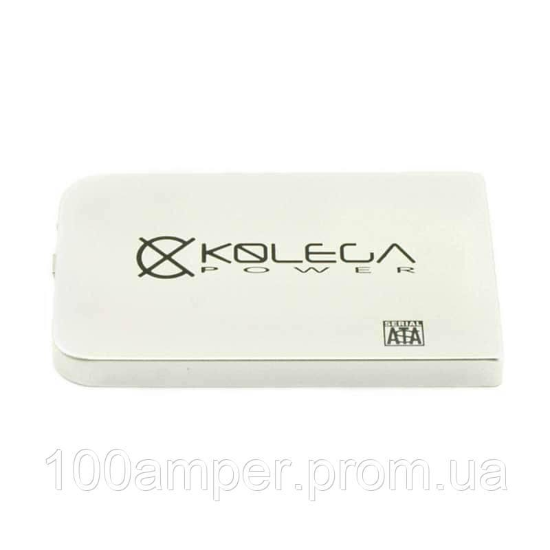 "Внешний карман для HDD SATA 2.5"" USB 2.0 (без болтов) Kolega-Power (Серый)"