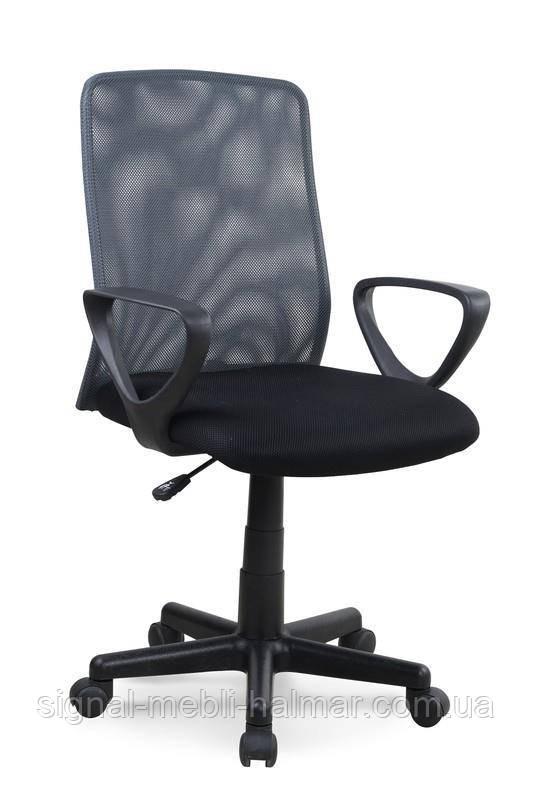 Компьютерное кресло ALEX (черно-серый) (Halmar)