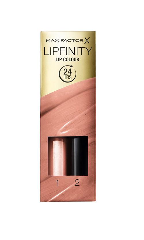 Max Factor Lipfinity Lipstick Помада+бальзам 006 always delicate