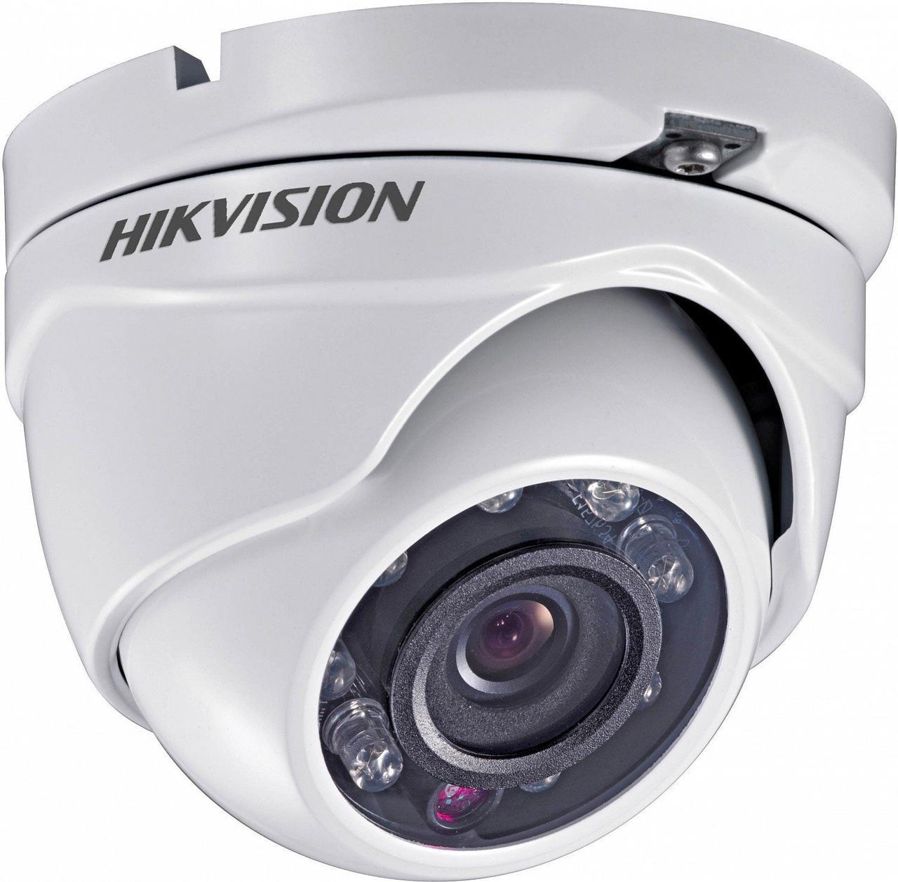 720p Turbo HD видеокамера купольная Hikvision DS-2CE56C0T-IRMF (2.8 мм)