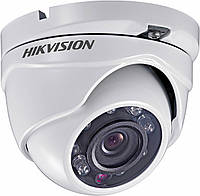 720p Turbo HD видеокамера купольная Hikvision DS-2CE56C0T-IRMF (2.8 мм), фото 1