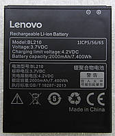 Аккумуляторная батарея Lenovo S650  BL210  2000mAh (SB19A19867)