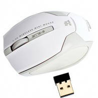 Мышь E-BLUE - Arco  /2.4G wireless / world smallets mini laser mouse/ white /