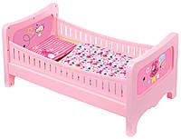 Кроватка для куклы BABY BORN СЛАДКИЕ СНЫ с постельным набором Zapf (824399)