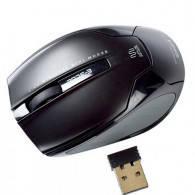 Мышь E-BLUE - Arco mini /2.4G wireless / world smallets mini laser mouse/ black /