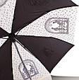 Женский зонт полуавтомат ZEST (ЗЕСТ) Z53626B-9 Антиветер, фото 3