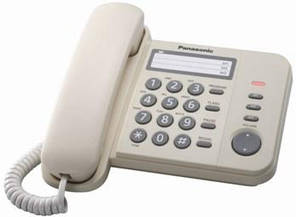 Проводной телефон Panasonic KX-TS2352UAJ Beige