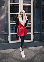 """Теплый женский жилет на овчине """"DUBLIN"""" с капюшоном (3 цвета), фото 3"""