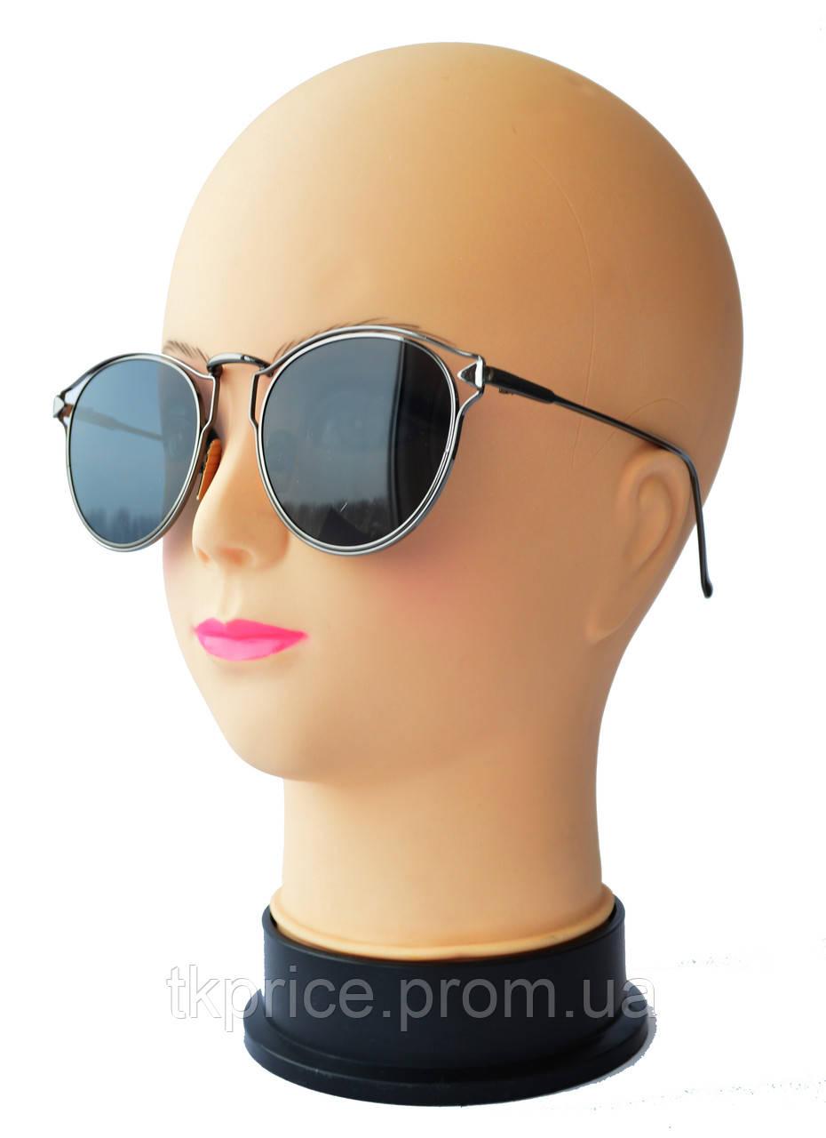 Женские солнцезащитные очки  черные 6027