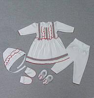 Крестильный набор для новорожденных девочек