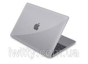 "Чехол-накладка MacallyShell ProtectiveCaseдля MacBook 12"" Glass (MBSHELL12-C)"