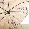 Женский зонт полуавтомат ZEST (ЗЕСТ) Z53626B-11 Антиветер, фото 3