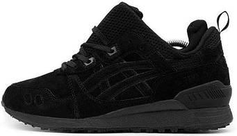 Мужские кроссовки Asics Gel Lyte III MT Boot Black (люкс копия)