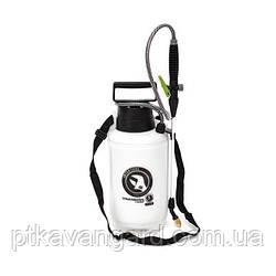 Опрыскиватель 5 л., 2 сопла латунь+пластик INTERTOOL FT-9005