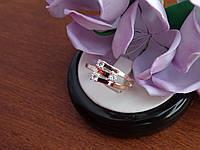 Серебряное кольцо с золотой пластинкой , фото 1