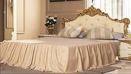 Ліжко з ДСП/МДФ в спальню Вікторія 1,6х2,0 підйомне з каркасом Миро-Марк