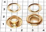 Люверс блочка №5 -7 мм с шайбой 50 шт в упаковке, фото 3