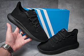 Кроссовки мужские Adidas  Tubular Shadow Knit, черные (11832), р. 41-45 (реплика)