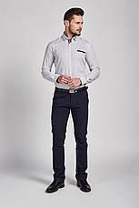 Рубашка мужская TOMI с узором цветов, фото 2