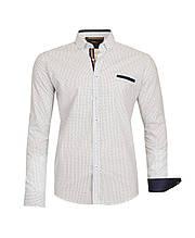 Рубашка мужская TOMI с узором цветов