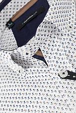 Рубашка мужская TOMI с узором цветов, фото 3