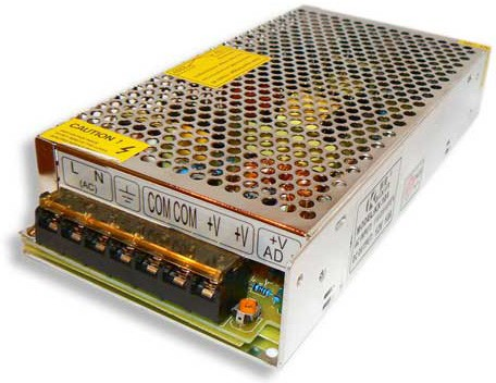 Блок питания для видеонаблюдения ATABA S-120-12 12 вольт 10А 120W