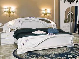 Ліжко з ДСП/МДФ в спальню Лулу 1,8х2,0 підйомне з каркасом Миро-Марк