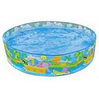 Надувной детский бассейн intex 58474 np Джунгли