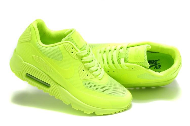 Кроссовки Nike Air Max 90 Hyperfuse (кислотные) (мужские и женские ... 838bd9de4a2