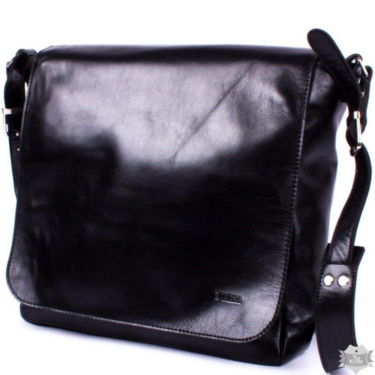 0a5fdb5b86a5 Мужская кожаная сумка через плечо Valenta ВМ7021541 - 24/7 UA - Товары для  дома