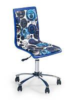 Компьютерное кресло FUN-8 (бело-синий) (Halmar)